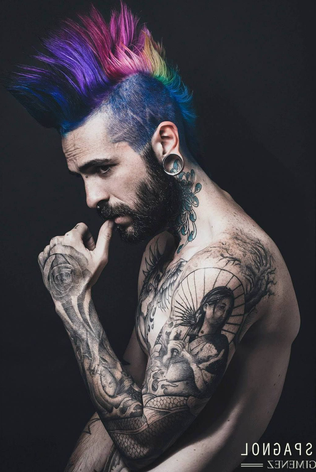 Dude Alternative Hair Pertaining To Well Known Steel Colored Mohawk Hairstyles (View 8 of 20)