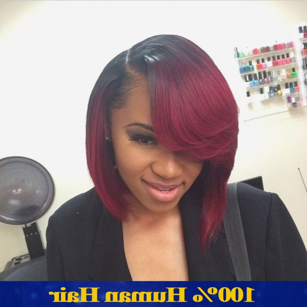 √ 24+ Inspirational Black People Bob Hairstyles: Black Hairstyles Regarding 2017 Bob Medium Hairstyles For Black Women (View 1 of 20)