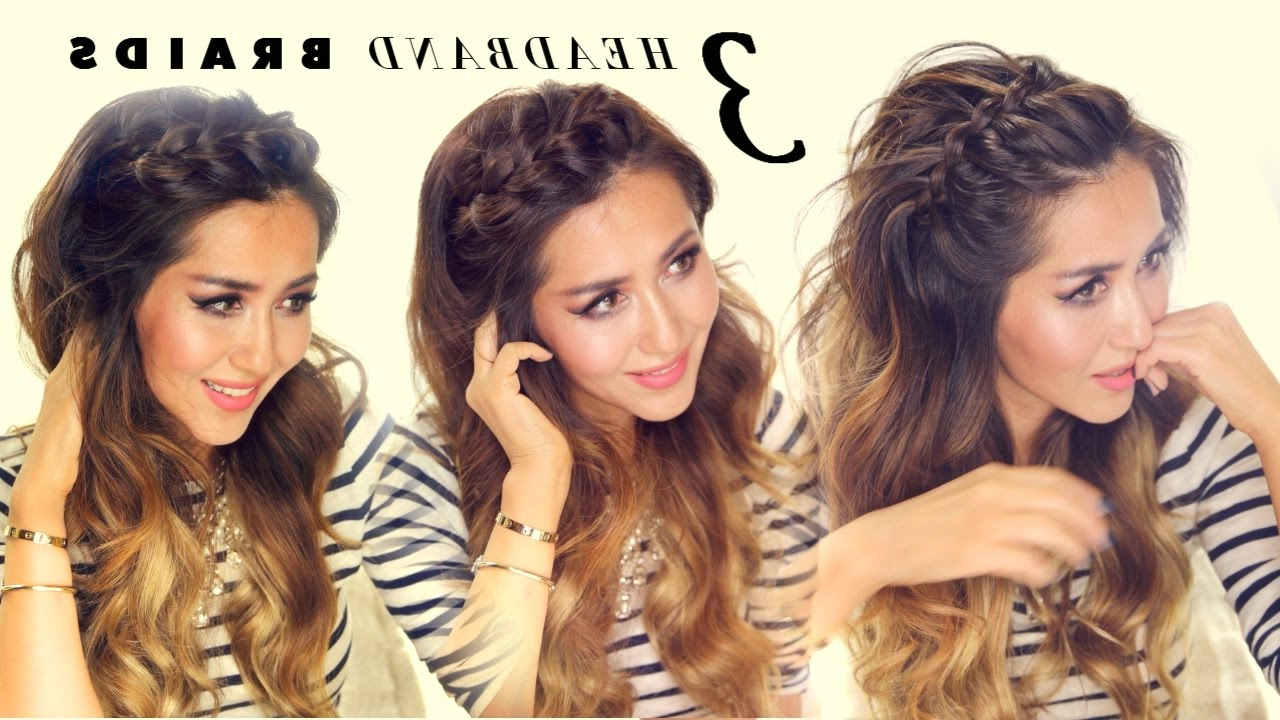 ☆ 3 Easy Peasy Headband Braids (View 10 of 20)