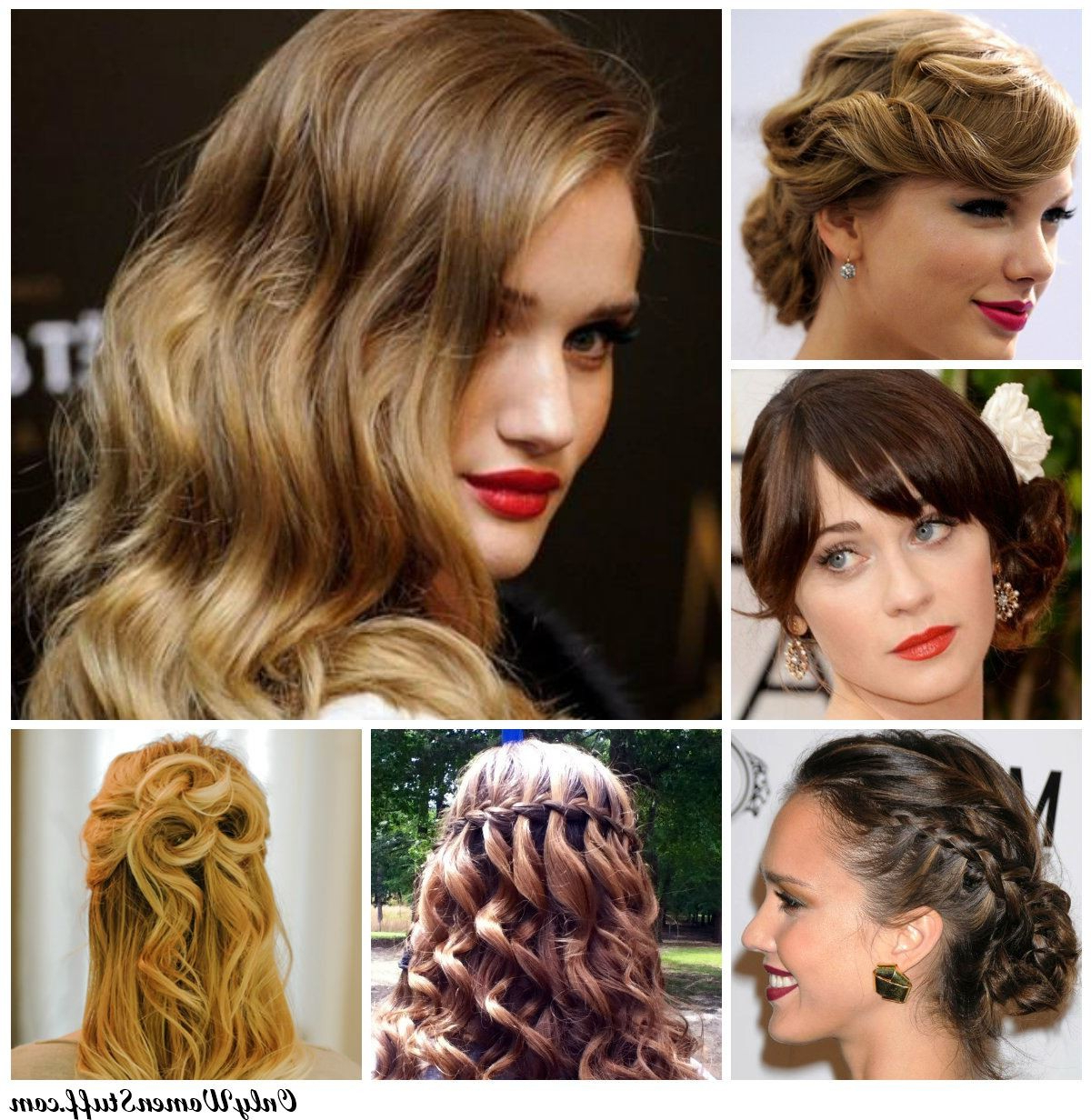 Easy Formal Hairstyles For Medium Hair Innovative Prom Hairstyles Within Most Current Cute Medium Hairstyles For Prom (View 9 of 20)