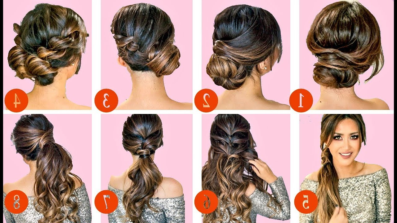 Easy Hairstyle Tutorial For Pertaining To Trendy Special Occasion Medium Hairstyles (View 14 of 20)