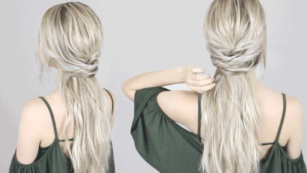 Easy Half Up Half Down Hairstyle (View 3 of 20)