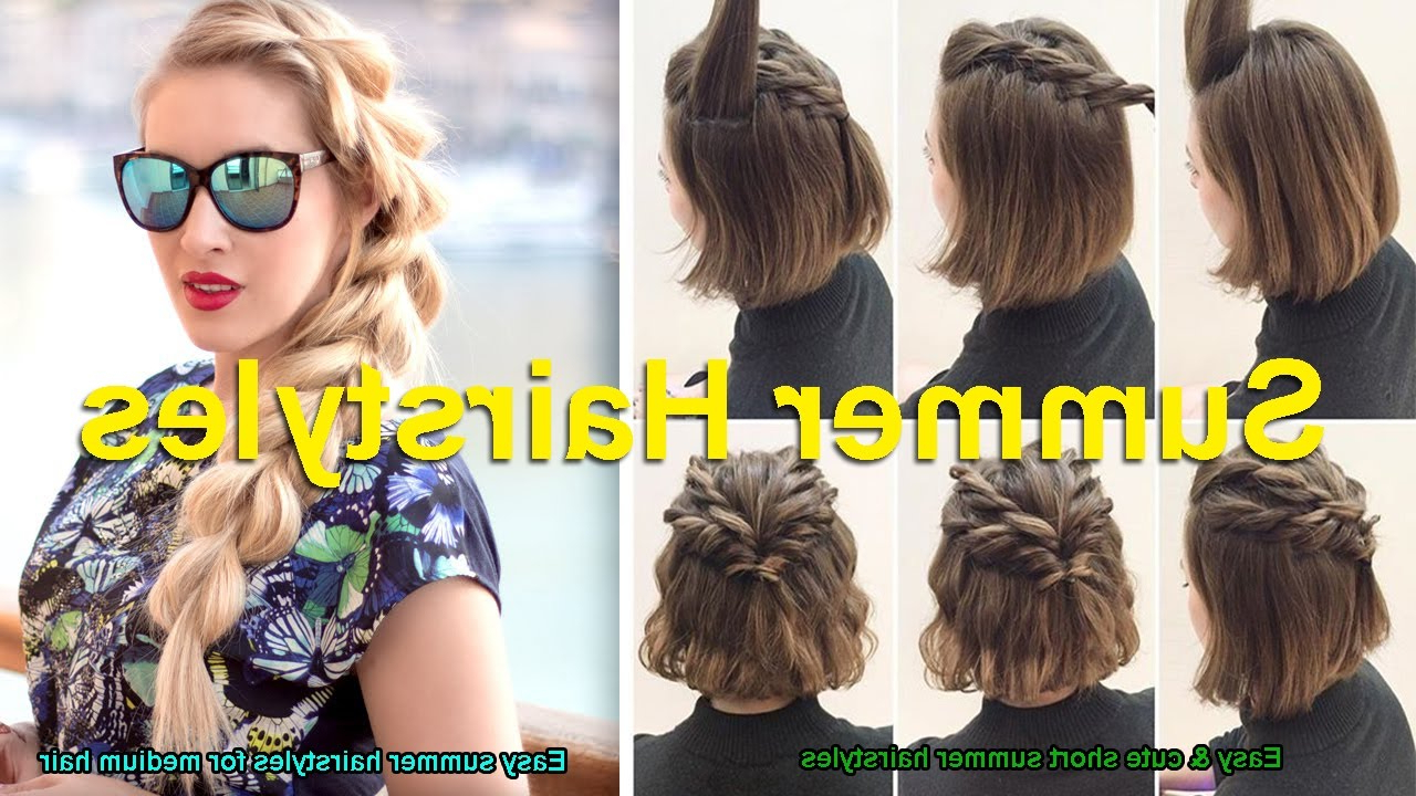 Featured Photo of Medium Hairstyles For Summer