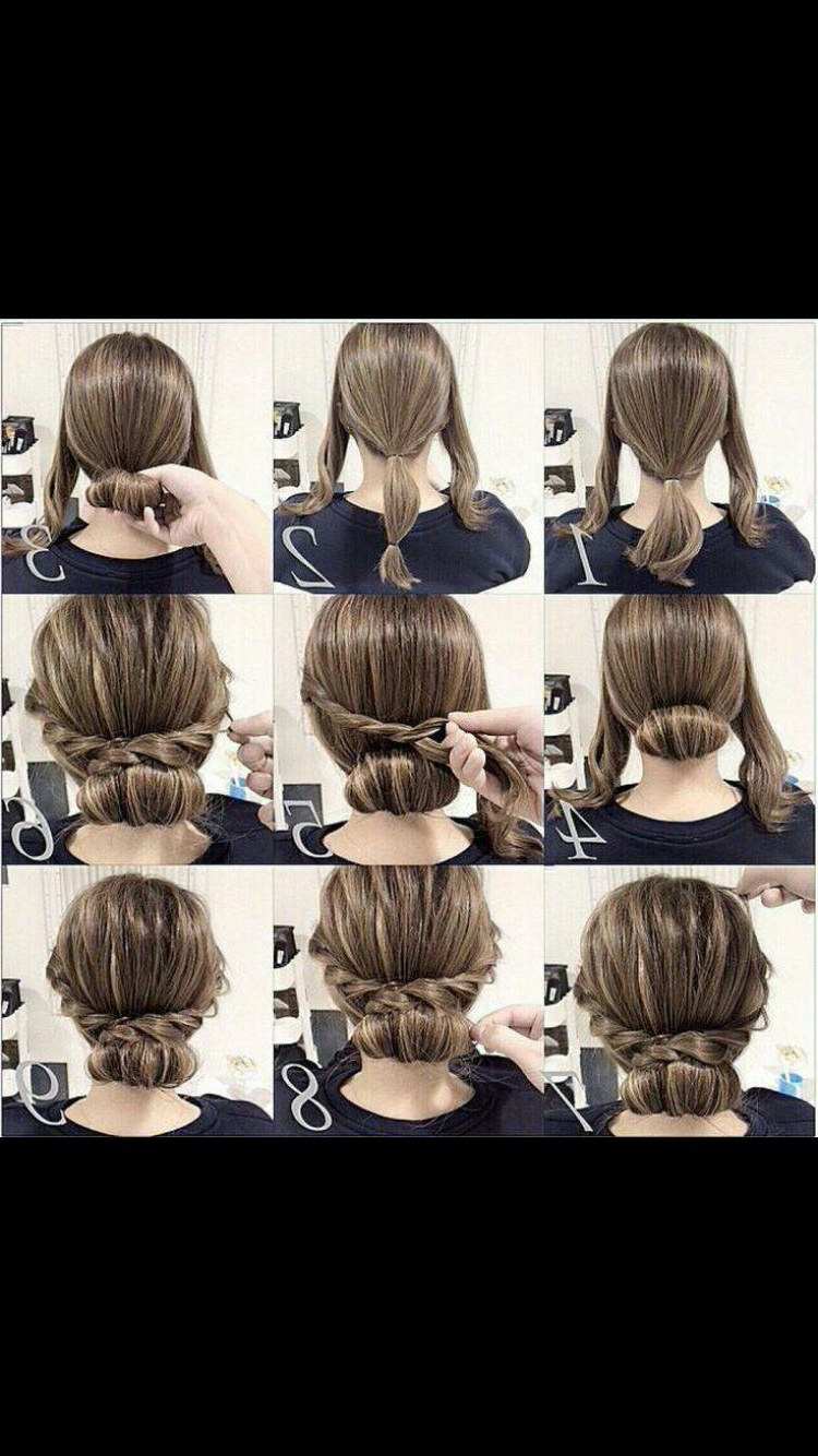 Easy Updo For Medium Length Hair (View 6 of 20)