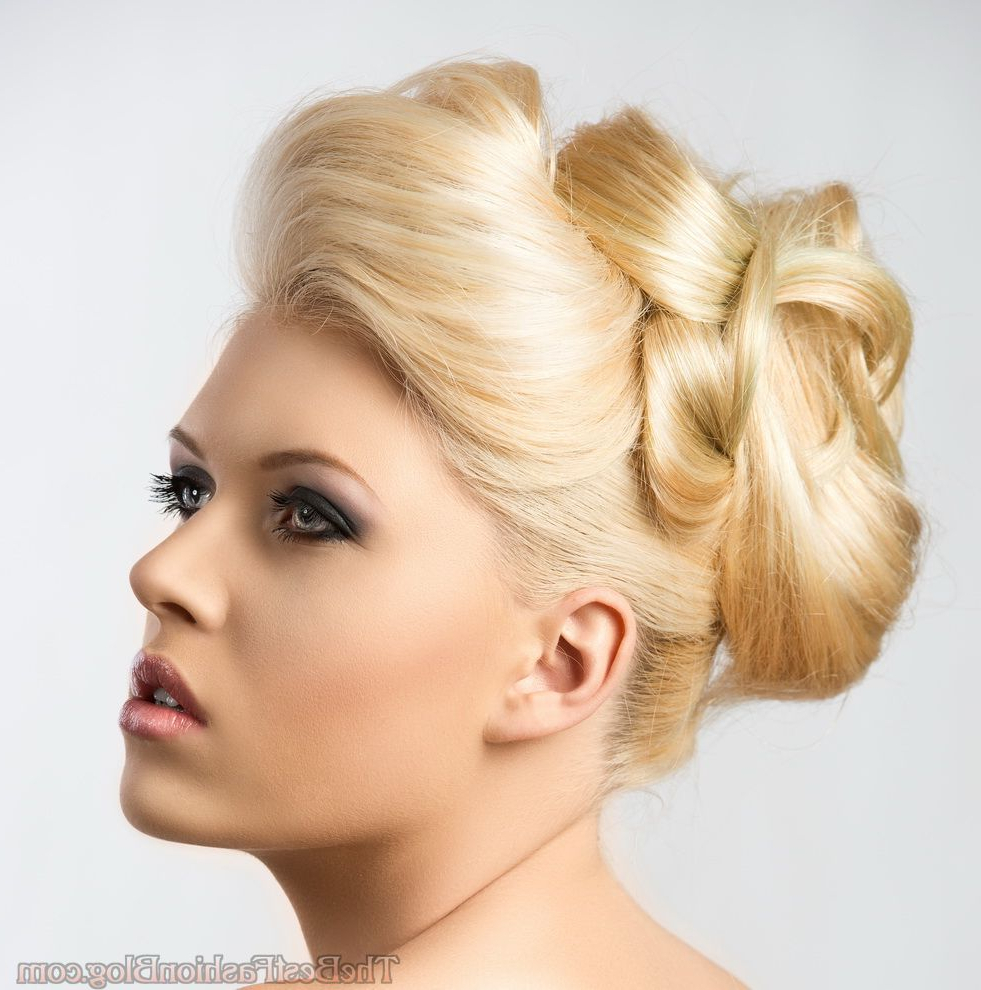 Evening Updo Hairstyles For Long & Medium Hair 2019 With Preferred Medium Hairstyles For Evening Wear (View 7 of 20)
