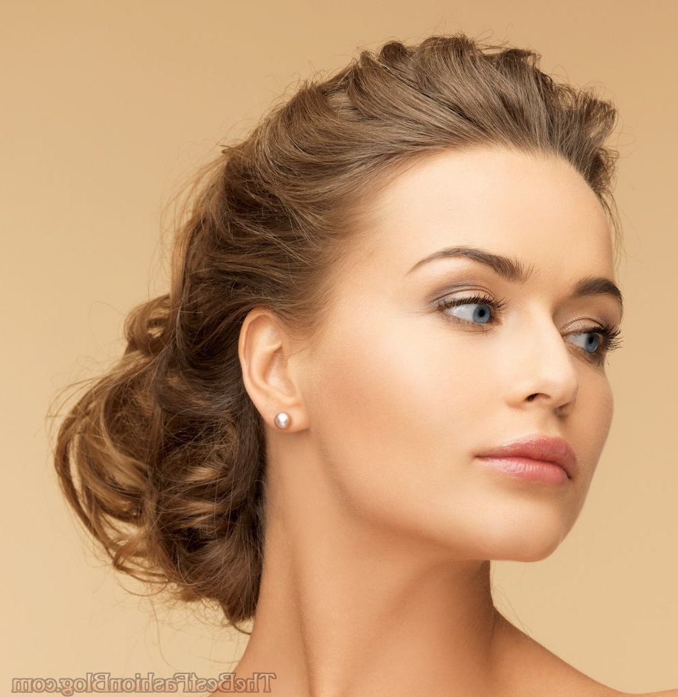 Evening Updo Hairstyles For Long & Medium Hair 2019 With Regard To Famous Medium Hairstyles For Evening Wear (View 8 of 20)