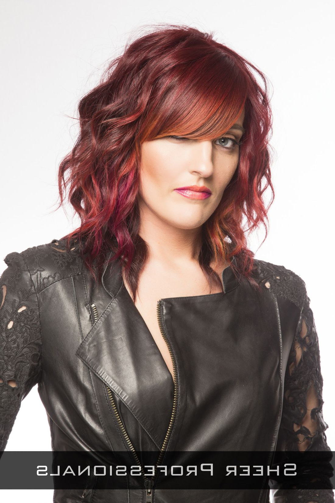 Fabulous Hair Pertaining To Fashionable Medium Haircuts With Red Color (View 7 of 20)