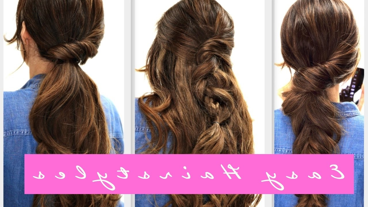 Fall Hairstyle For Medium + Long Hair – Youtube In Trendy Medium Hairstyles For Fall (View 5 of 20)