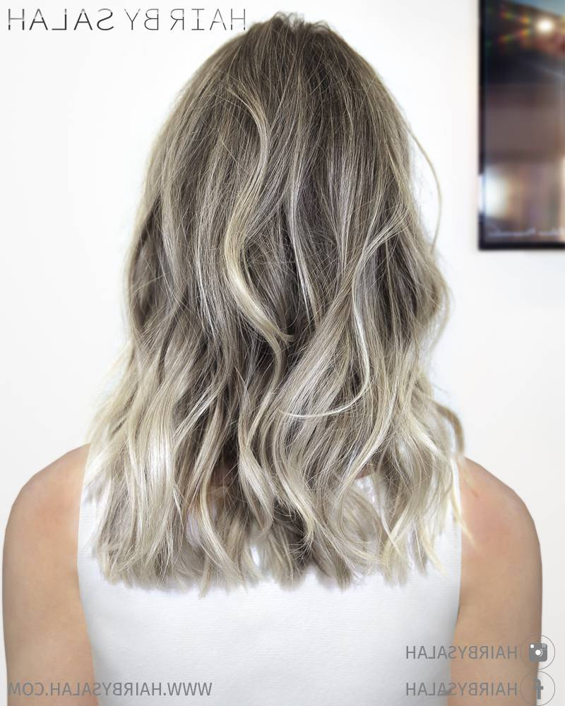 Famous Ash Blonde Medium Hairstyles In 45 Adorable Ash Blonde Hairstyles – Stylish Blonde Hair Color Shades (View 14 of 20)
