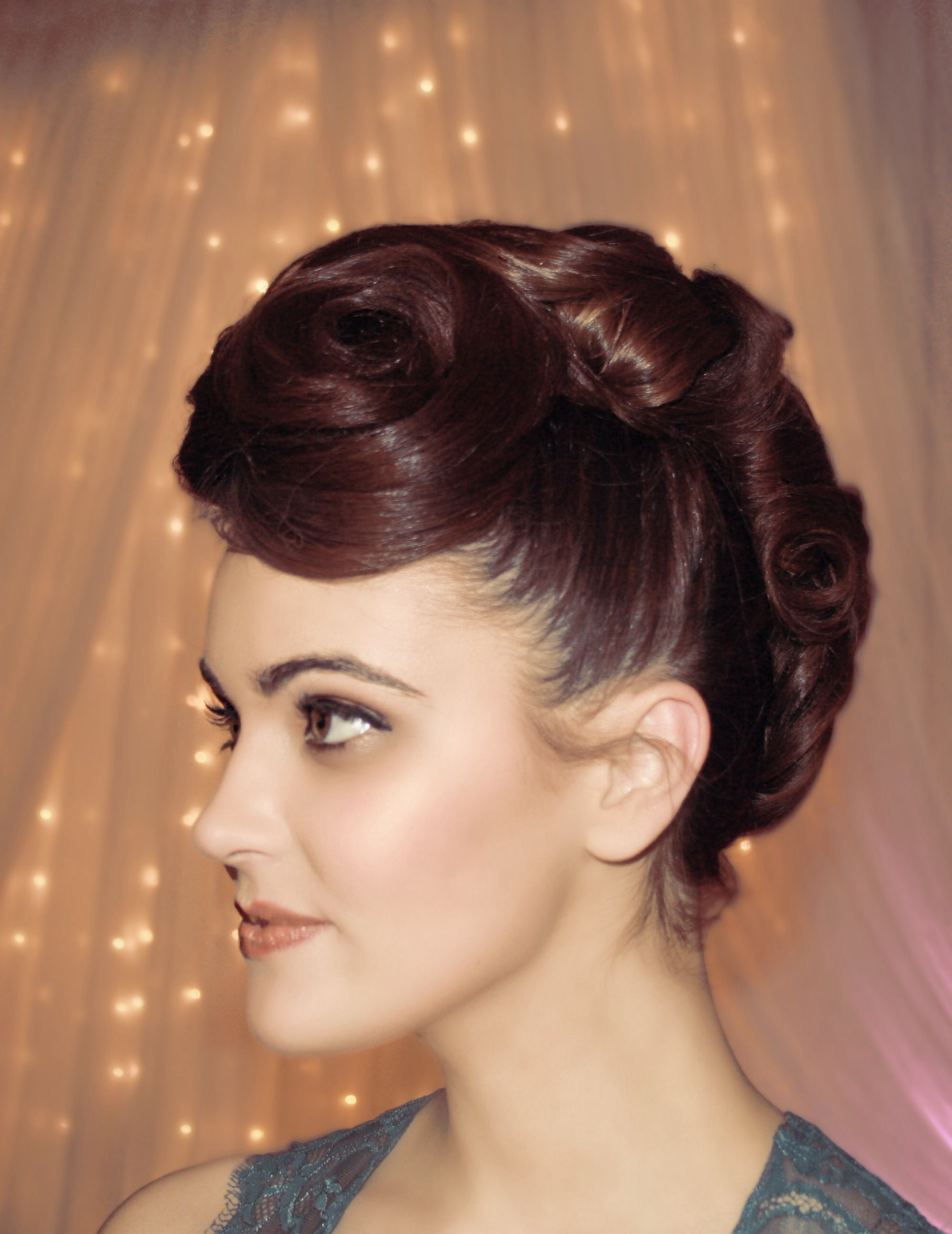 Famous Athenian Goddess Faux Hawk Updo Hairstyles In Faux Hawk Bride Bridal Funky Hair Wedding (View 7 of 20)