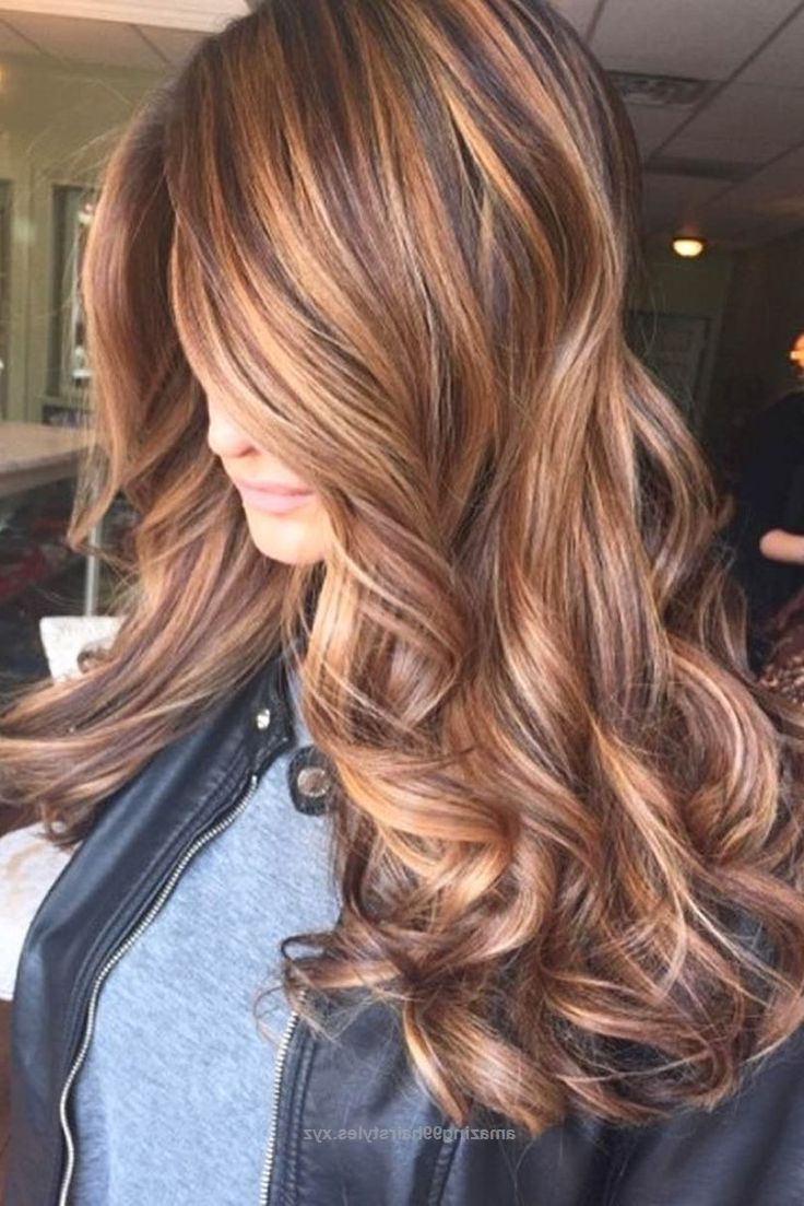 Famous Fall Medium Hairstyles Intended For Hair Color : Cool Stunning Fall Hairstyle Colors Ideas For Brunettes (View 10 of 20)
