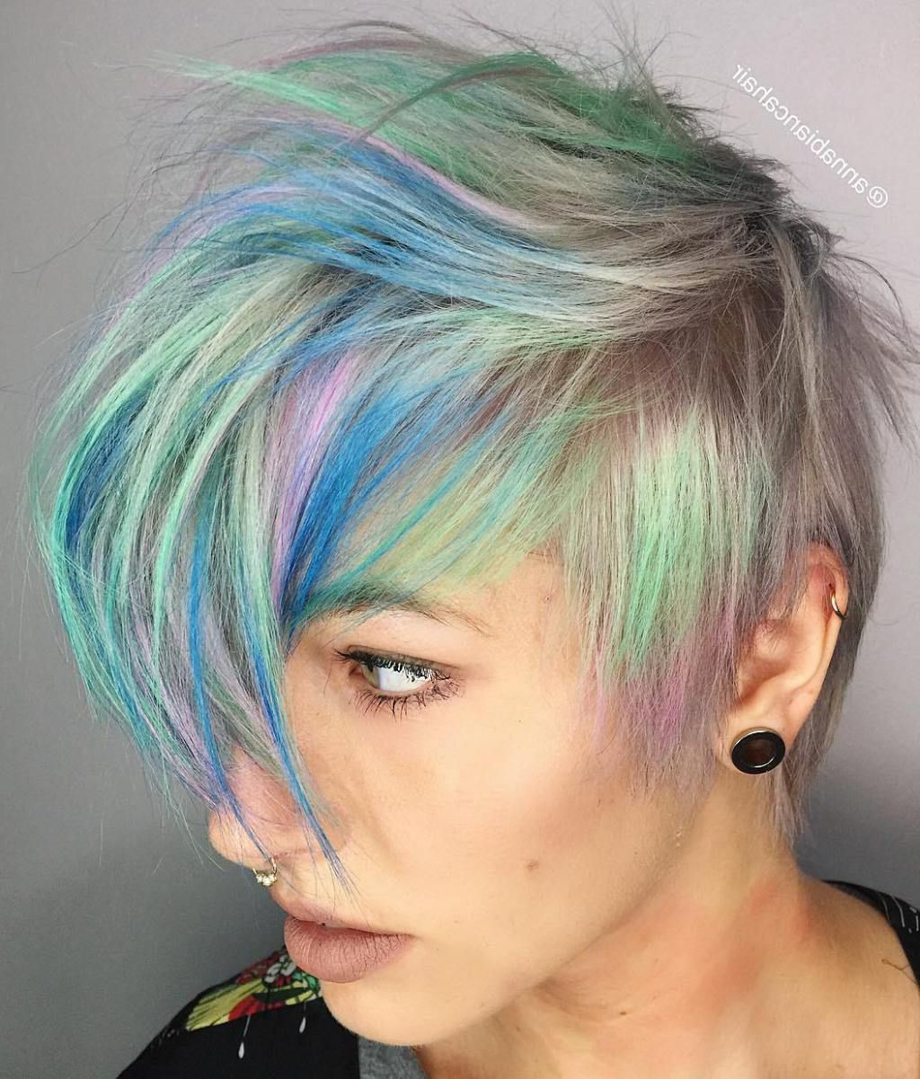 Famous Holograph Hawk Hairstyles Throughout 70 Most Gorgeous Mohawk Hairstyles Of Nowadays (View 8 of 20)