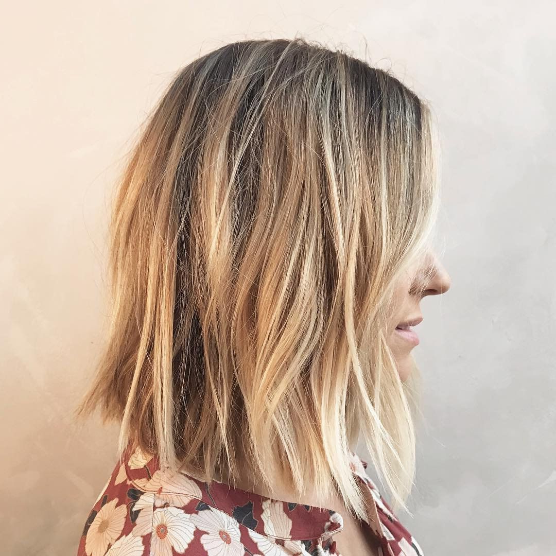 Famous Lauren Conrad Medium Haircuts Throughout New Mom Lauren Conrad Debuts Post Baby Haircut: 'it's More Of A Time (View 8 of 20)