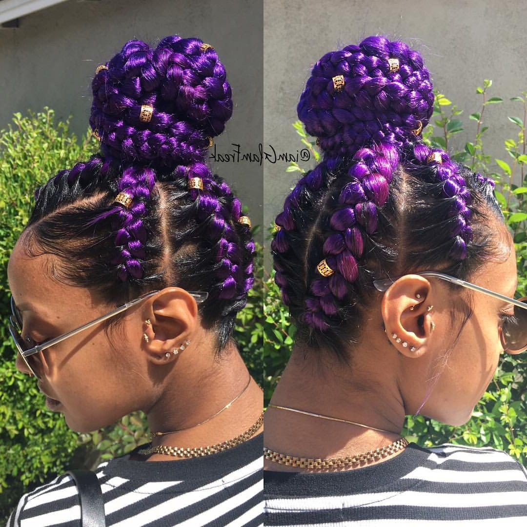 Famous Lavender Braided Mohawk Hairstyles Throughout Follow Me @survivor2018 For More Pins Like This (View 9 of 20)