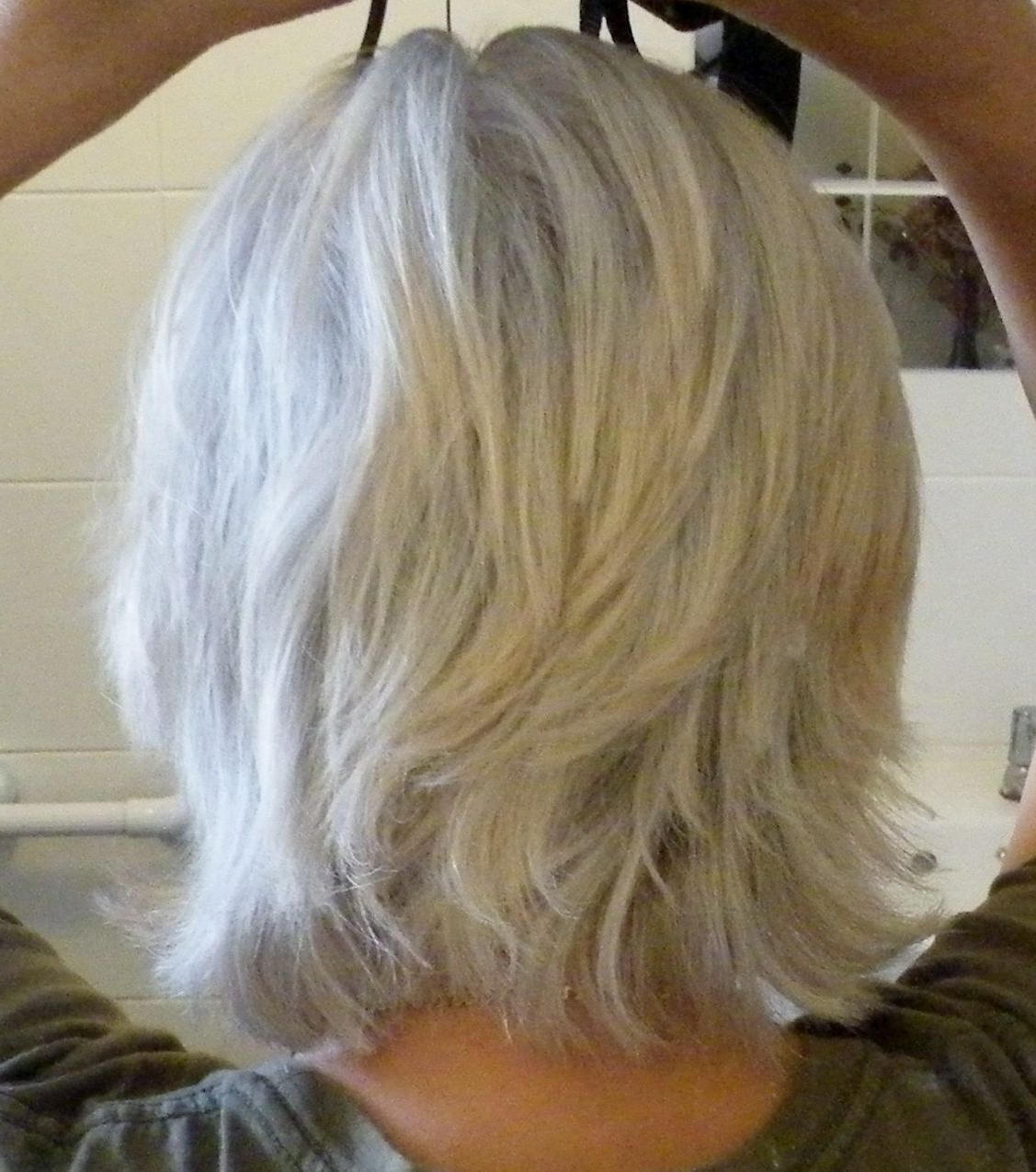 Famous Medium Haircuts For Grey Hair In Possible Short Ish Cut For When The Growing Out Phase Is Driving Me (View 10 of 20)