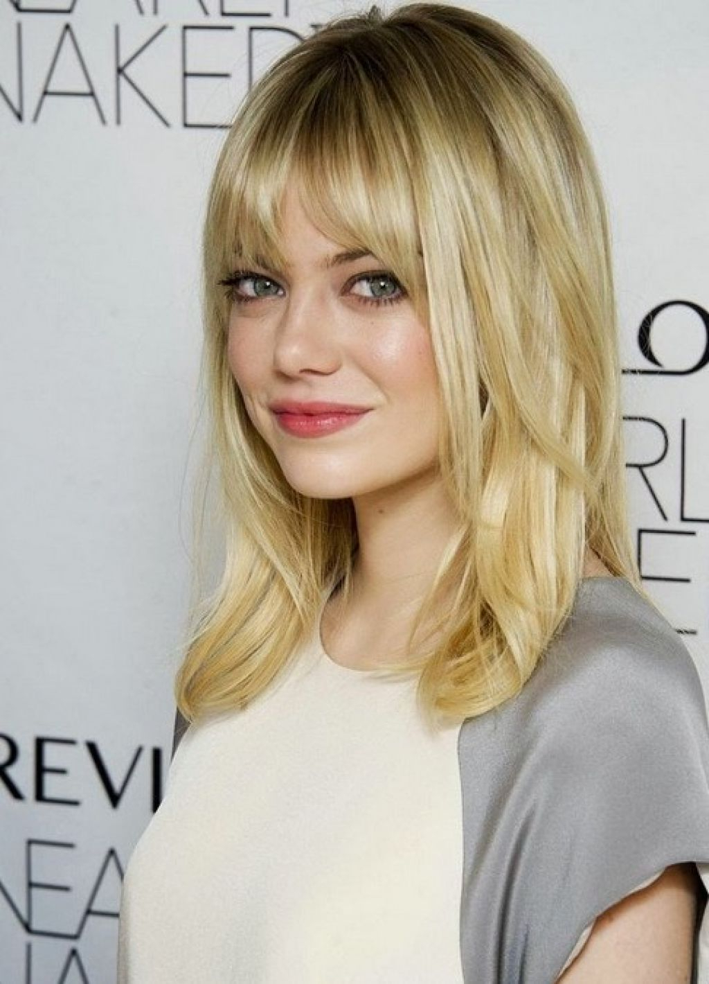 Famous Medium Haircuts With Longer Bangs Throughout Hair Cuts : Enchanting Haircuts For Long Fine Hair Cuts With Bangs (View 6 of 20)