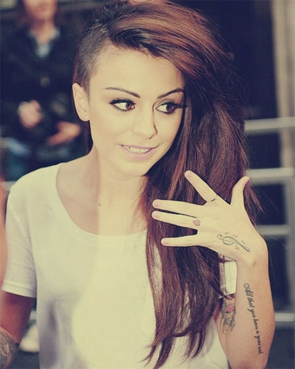 Famous Medium Haircuts With Shaved Sides With Regard To Men Hairstyle : Half Shaved Hairstyles For Girls Cool Bob Haircuts (View 7 of 20)