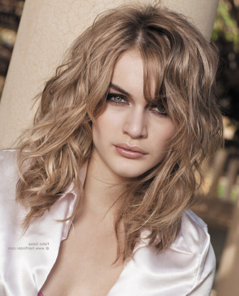Famous Medium Hairstyles Curly For Long Layered Haircuts For Naturally Wavy Hair – Google Search (View 7 of 20)