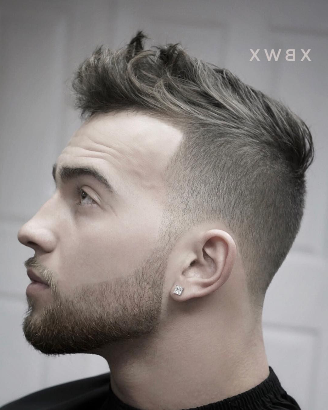 Famous Platinum Fauxhawk Haircuts Inside 27 Awesome Mens Fade Haircuts & Variations For Summer  (View 3 of 20)