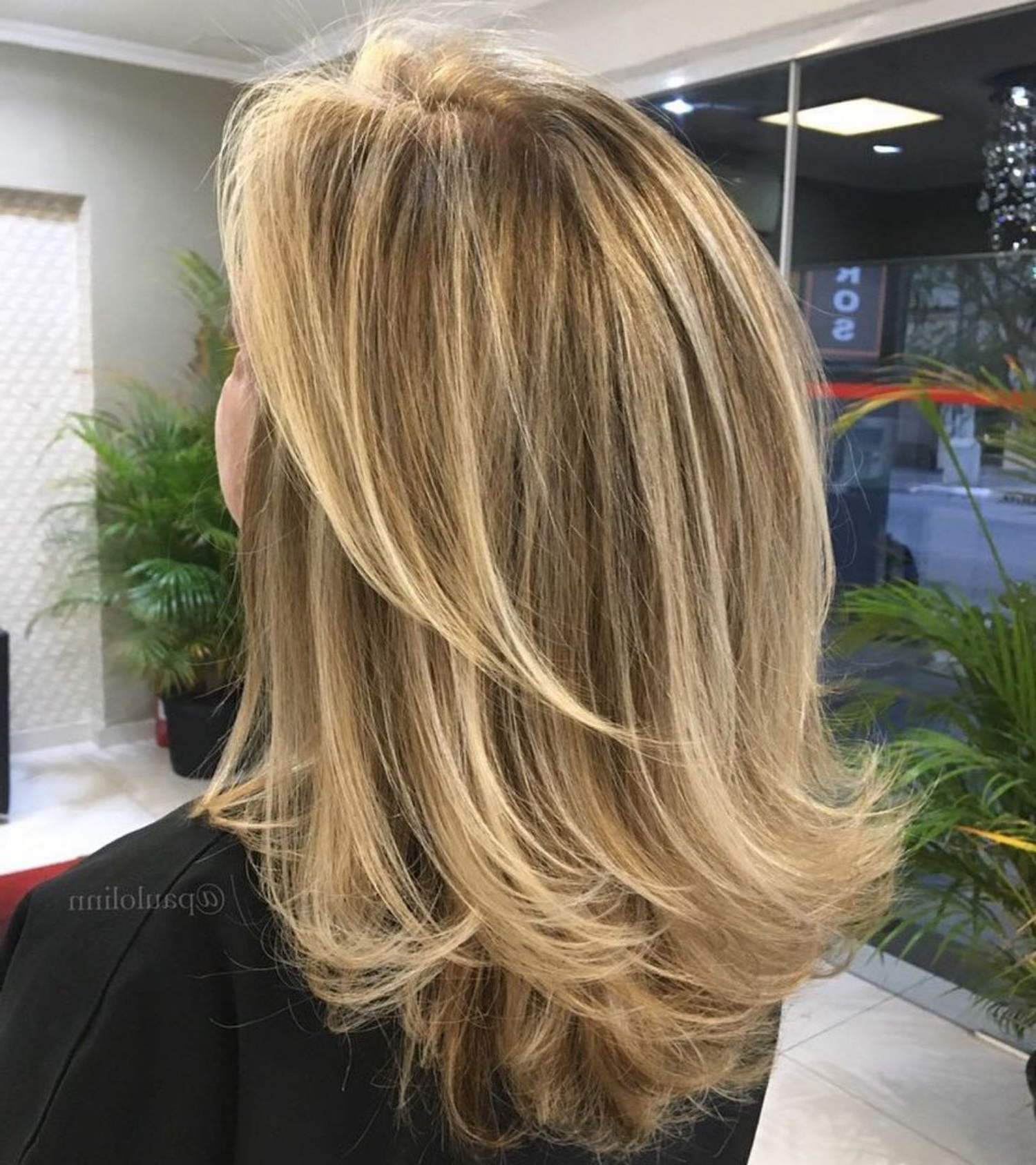 Famous Shoulder Length Haircuts With Flicked Ends In 60 Fun And Flattering Medium Hairstyles For Women (View 10 of 20)