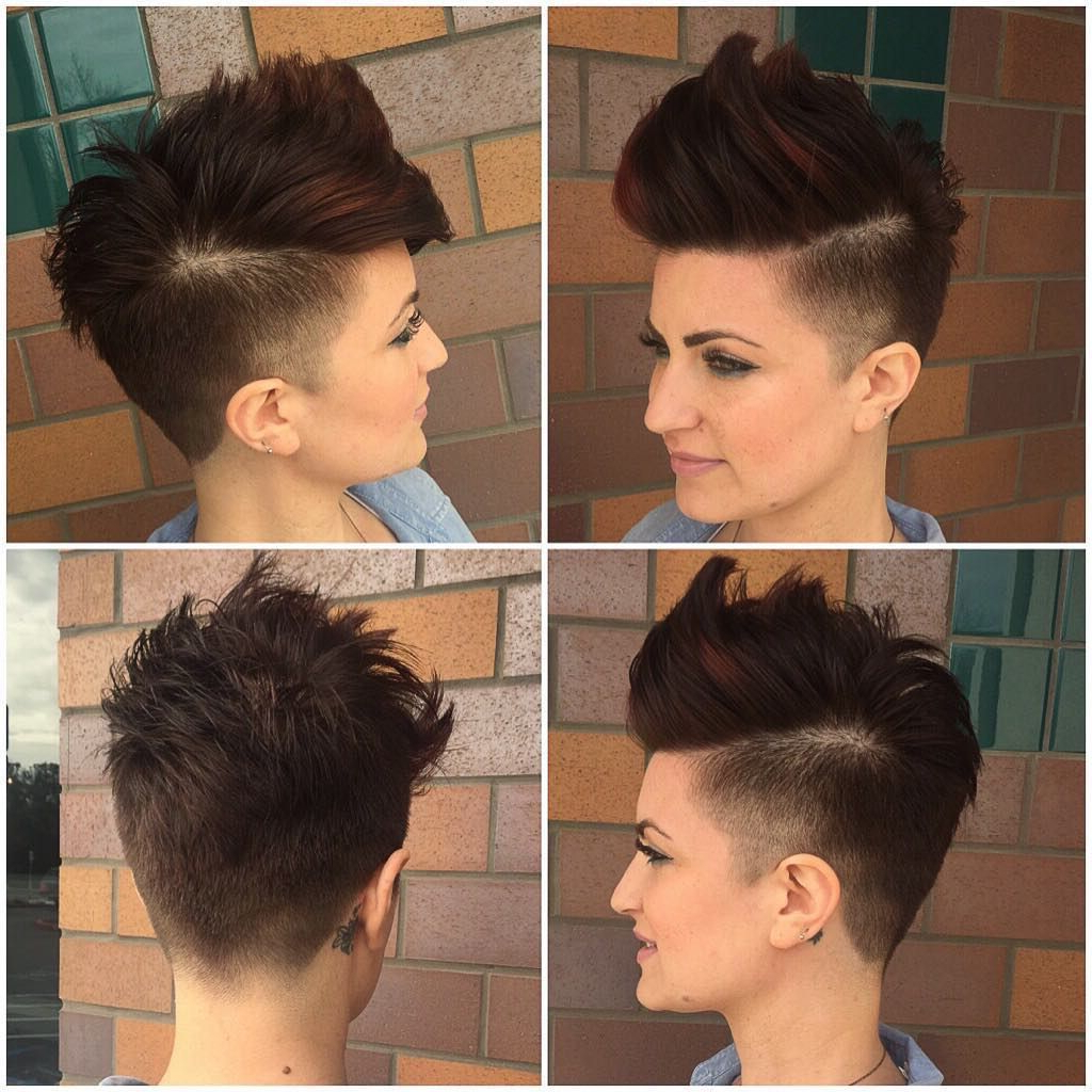 Featured Photo of Asymmetrical Pixie Faux Hawk Hairstyles