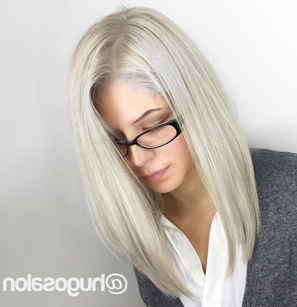 Fashionable Best Medium Haircuts For Thin Hair Throughout Hairstyles And Haircuts For Thin Hair In 2018 — Therighthairstyles (View 17 of 20)