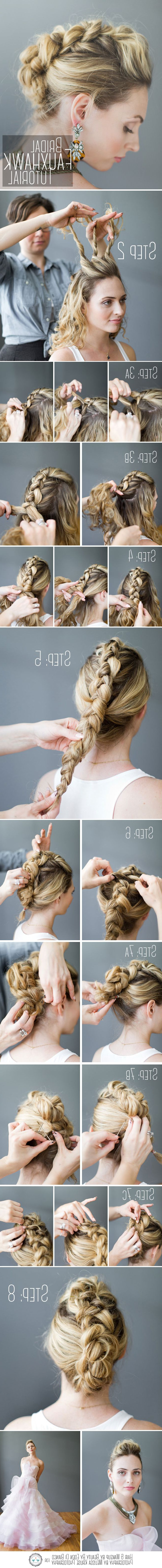 Fashionable Braided Tower Mohawk Hairstyles With 228 Best Hair: General Images On Pinterest (View 2 of 20)