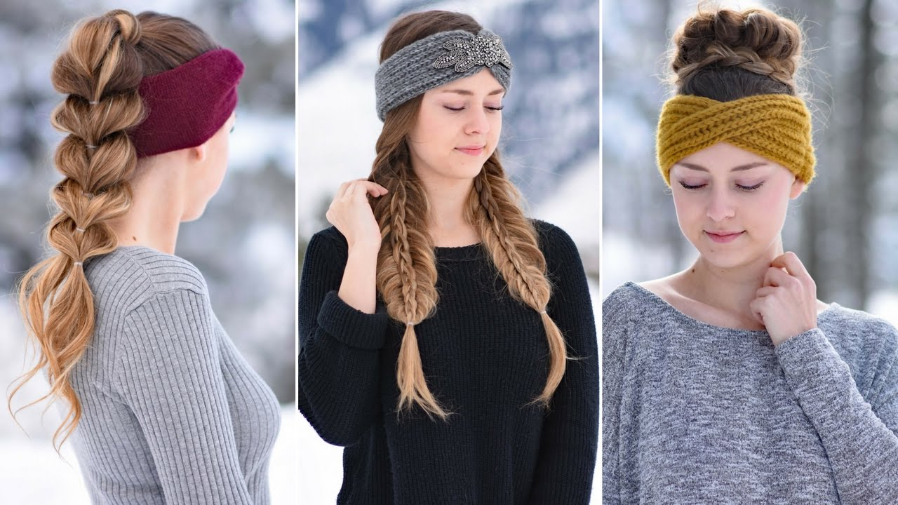 Fashionable Cute Medium Hairstyles With Headbands Inside 3 Easy Headband Hairstyles (View 6 of 20)
