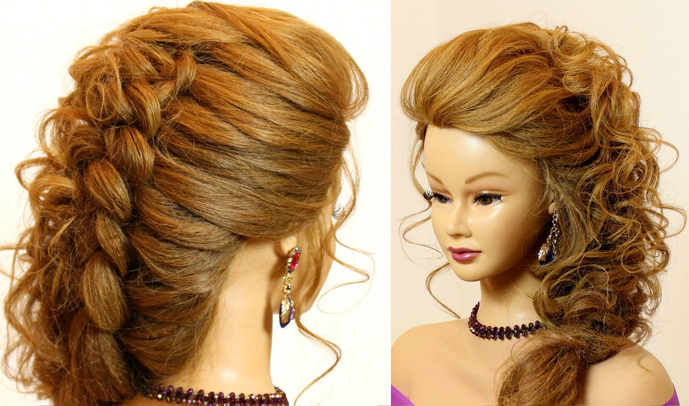 Fashionable Half Short Half Medium Haircuts With Wedding Hairstyle : Wedding Styles Hair Style Half Up Hairstyles For (View 12 of 20)