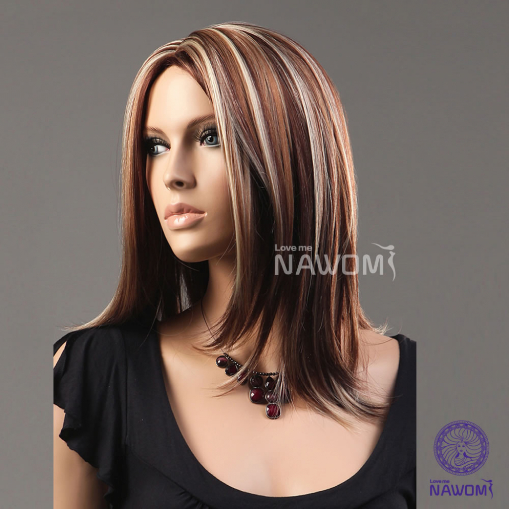 Fashionable Highlighted Medium Hairstyles With Gallery Of Medium Blonde Highlighted Hairstyles Theidleman (View 6 of 20)