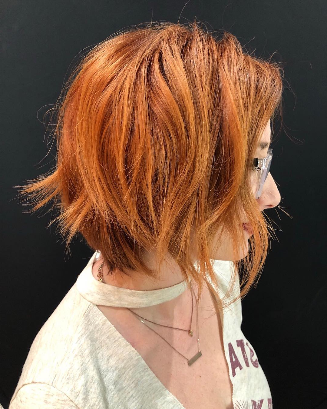 Fashionable Layered, Flipped, And Tousled Hairstyles Pertaining To Top 10 Trendy, Low Maintenance Short Layered Hairstyles 2019 (Gallery 16 of 20)