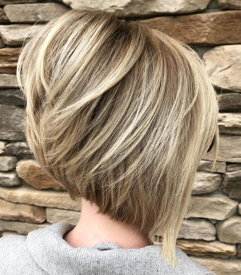Fashionable Layered Haircuts With Cropped Locks On The Crown With 60 Most Beneficial Haircuts For Thick Hair Of Any Length (View 9 of 20)