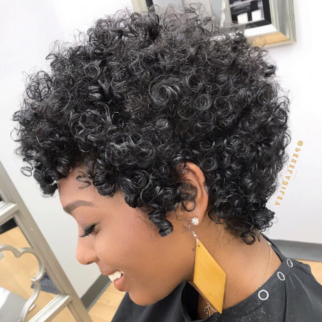 2020 Popular Medium Haircuts For Black Women Round Face