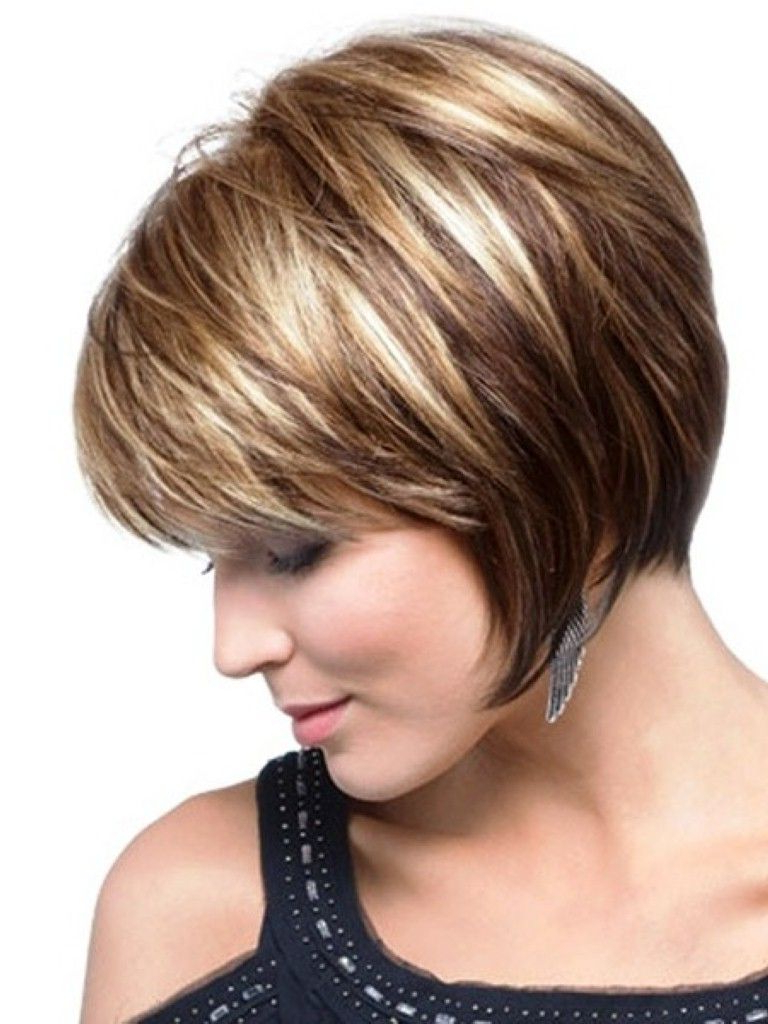 Fashionable Medium Haircuts For Curvy Women Regarding Beautiful Hair Trends And The Hair Color Ideas (View 5 of 20)