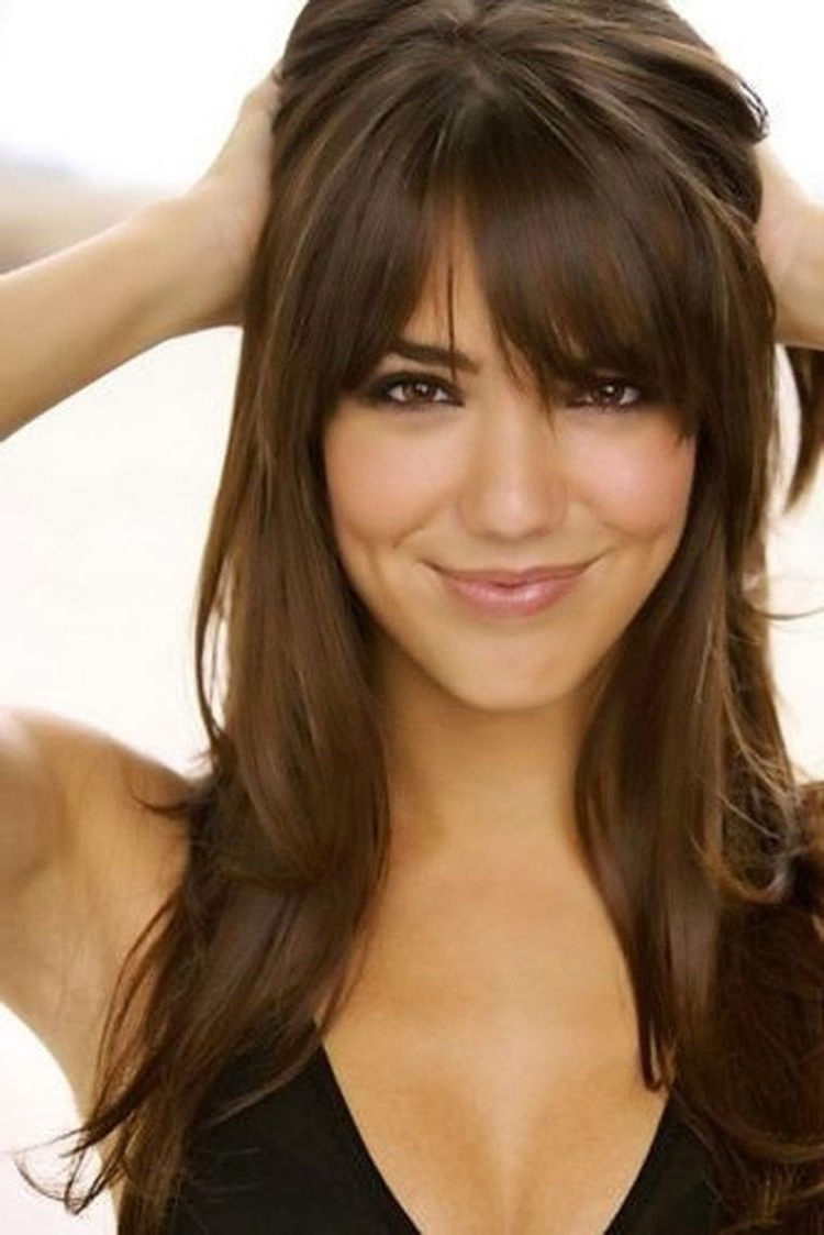 Fashionable Medium Haircuts With Long Fringe With How To Make Long Hair More Manageable (View 9 of 20)