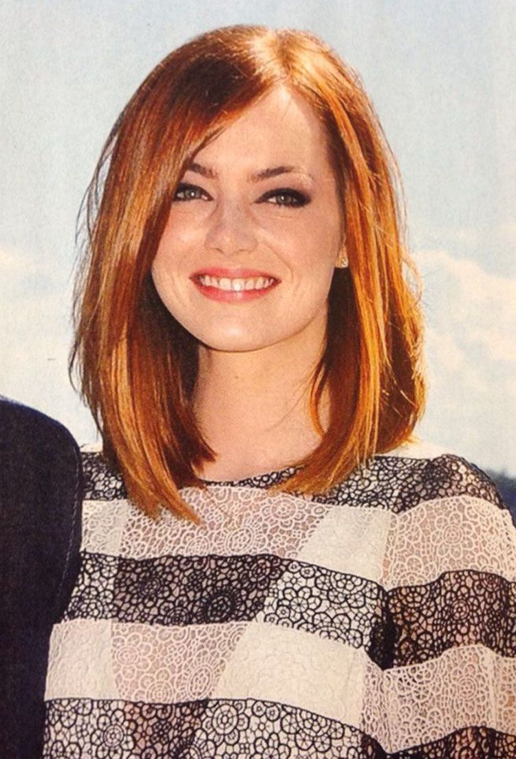Fashionable Medium Hairstyles For Red Hair Pertaining To 10 Tips To Finding The Perfect Haircut For Your Face Shape (View 10 of 20)