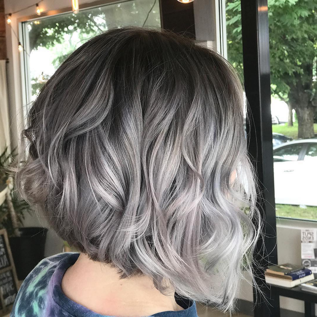 Fashionable Medium Hairstyles For Women With Gray Hair For 10 Medium Length Hair Color Ideas (View 5 of 20)