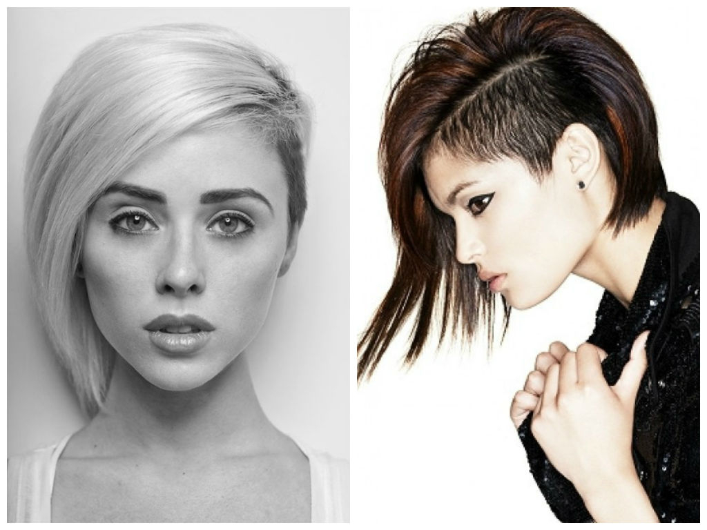 Fashionable Medium Hairstyles With Shaved Side Intended For Hairstyle Ideas With Shaved Sides – Hair World Magazine (View 4 of 20)