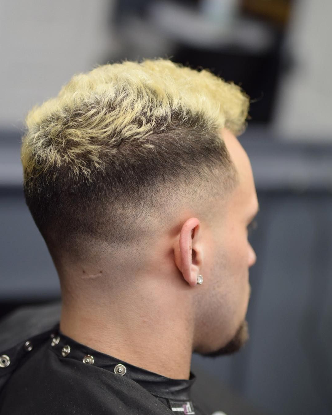 Fashionable Mohawk Haircuts With Blonde Highlights Regarding 49 Best Fade Haircuts For Men + Cool Men's Fade Hairstyles ( (View 9 of 20)