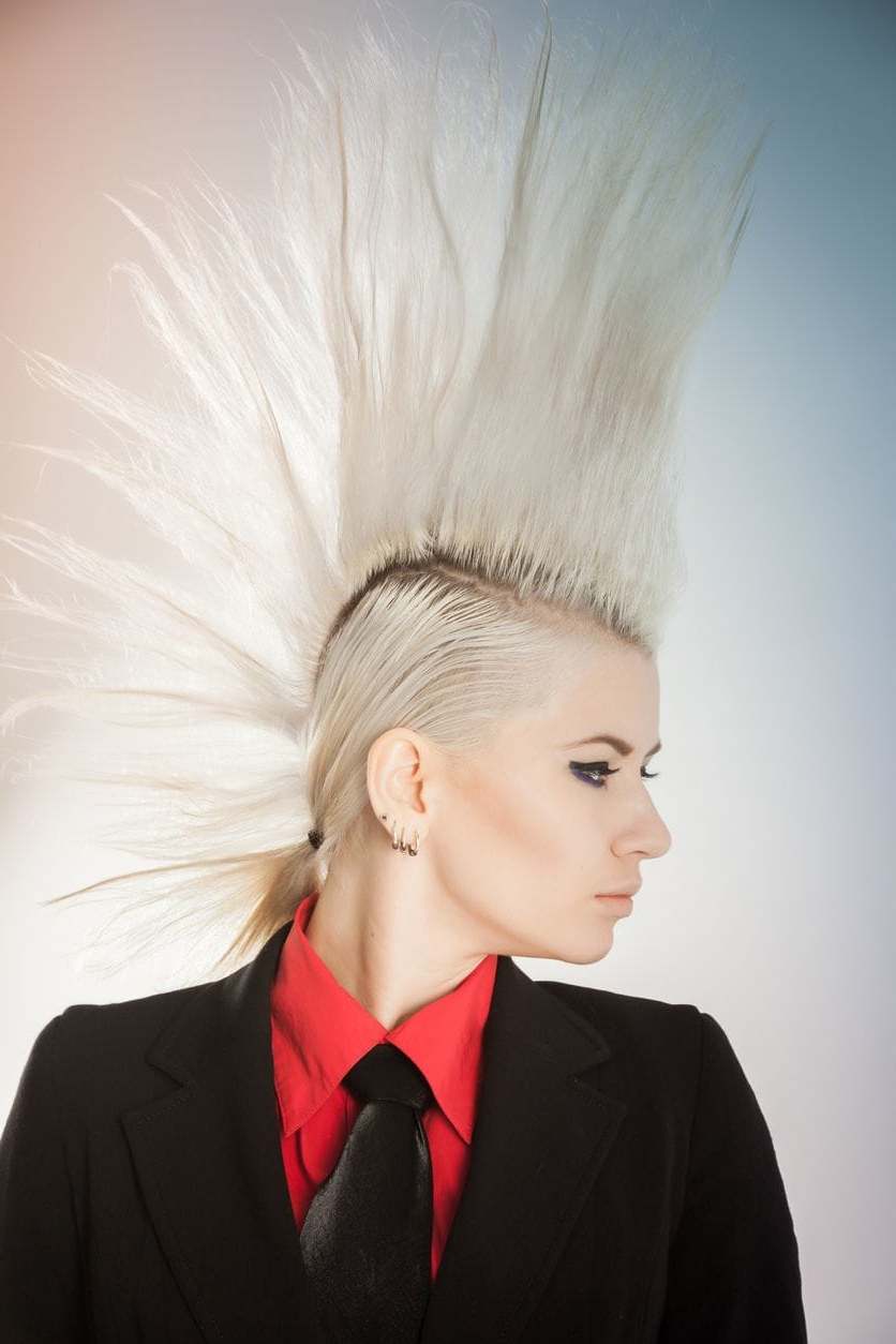 Favorite Bed Head Honey Mohawk Hairstyles Pertaining To 8 Fashionable Mohawk Hairstyles For Women: From Haute To Head Turning (View 2 of 20)