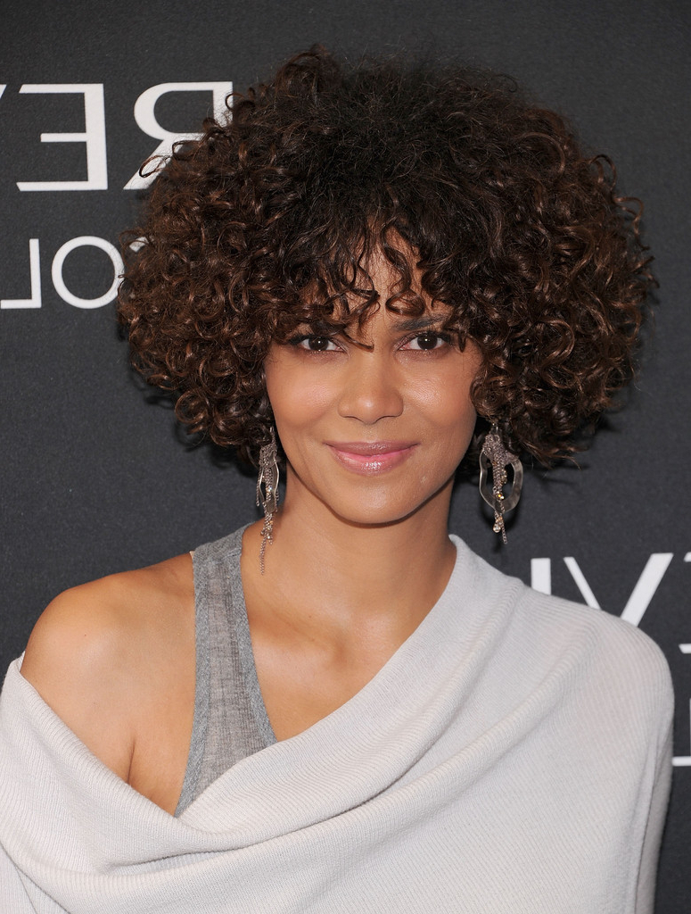 Favorite Curly Medium Hairstyles For Black Women In 25 Short Curly Hairstyles For 2016 – The Xerxes (View 7 of 20)