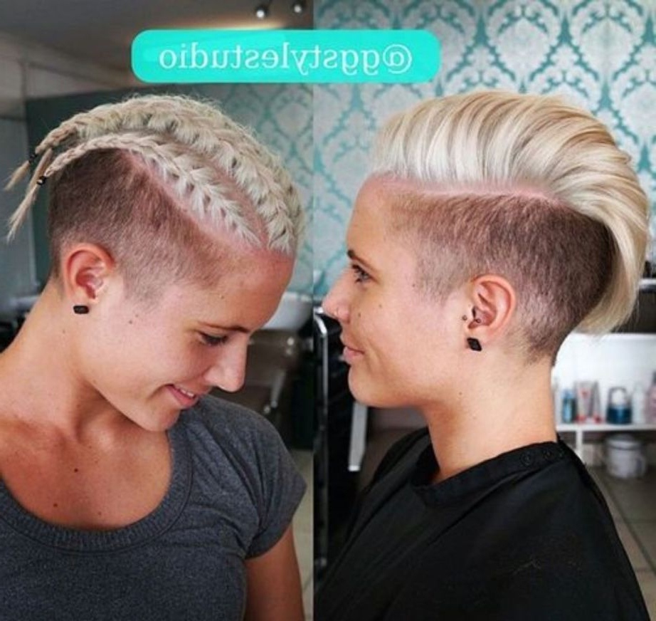 Favorite Extravagant Purple Mohawk Hairstyles Pertaining To 70 Most Gorgeous Mohawk Hairstyles Of Nowadays In  (View 4 of 20)