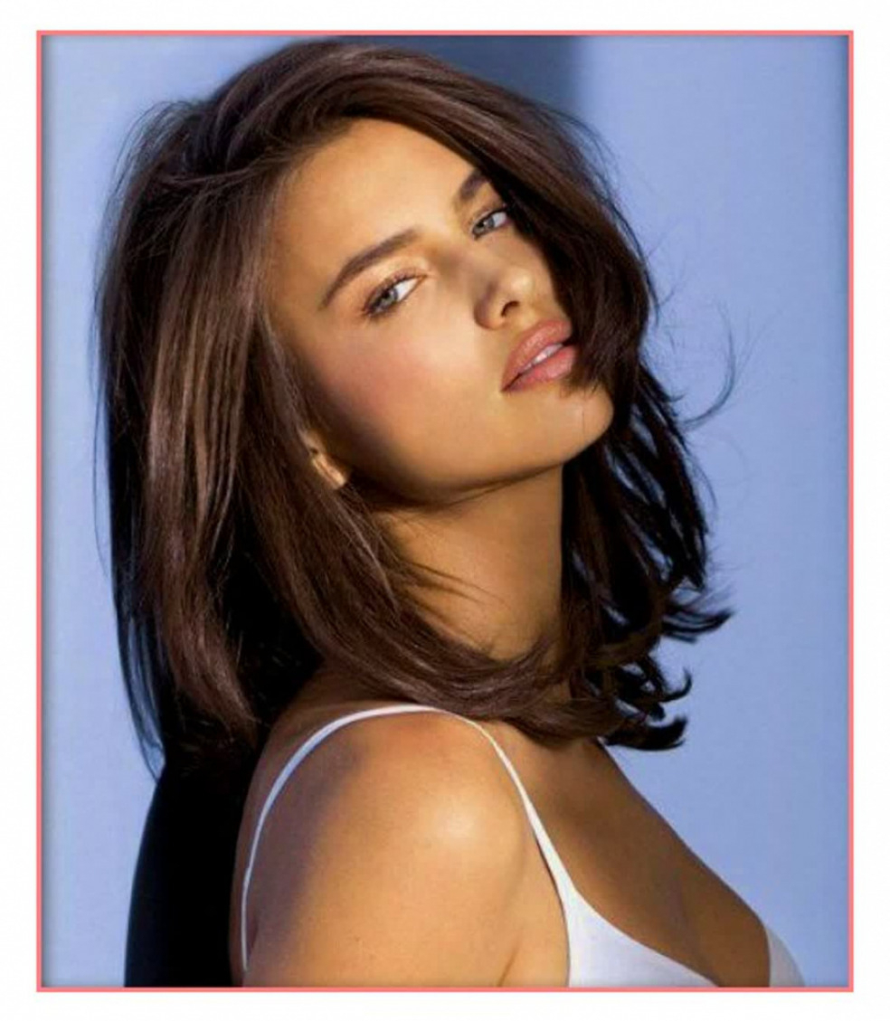 Favorite Feathered Brunette Lob Haircuts With Regard To Women Hairstyle : Mid Length Brunette Hairstylesunixcode Medium (View 11 of 20)