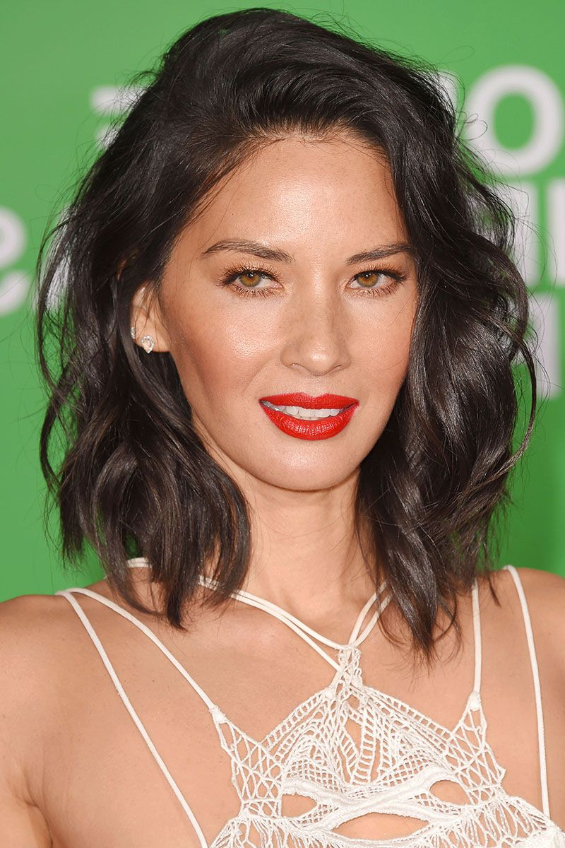 Favorite Half Shaved Medium Hairstyles For 40 Best Medium Hairstyles – Celebrities With Shoulder Length Haircuts (View 8 of 20)