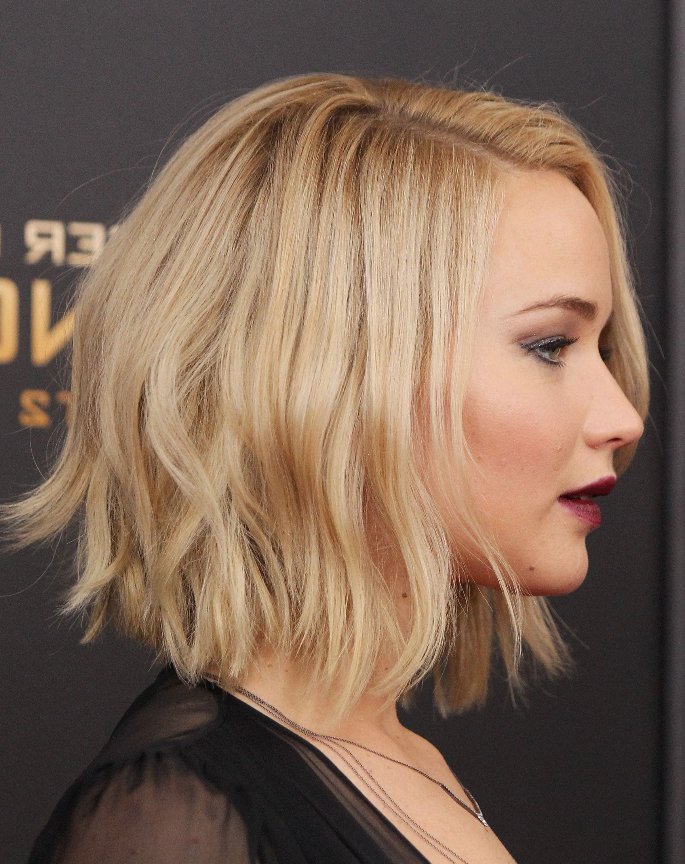 Favorite Jennifer Lawrence Medium Hairstyles Inside Jennifer Lawrence Short Hair (View 6 of 20)