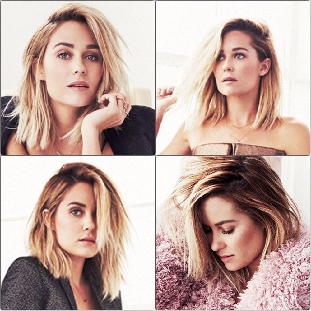 Favorite Lauren Conrad Medium Hairstyles In Lauren Conrad New Haircut (Gallery 2 of 20)