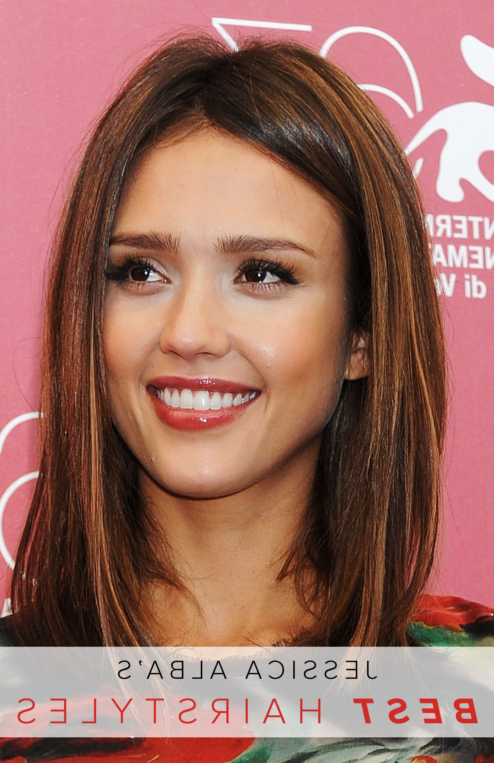 Favorite Medium Haircuts For Black Women With Oval Faces With Jessica Alba's Hair Journey From Young Starlet To Leading Lady (and (View 12 of 20)