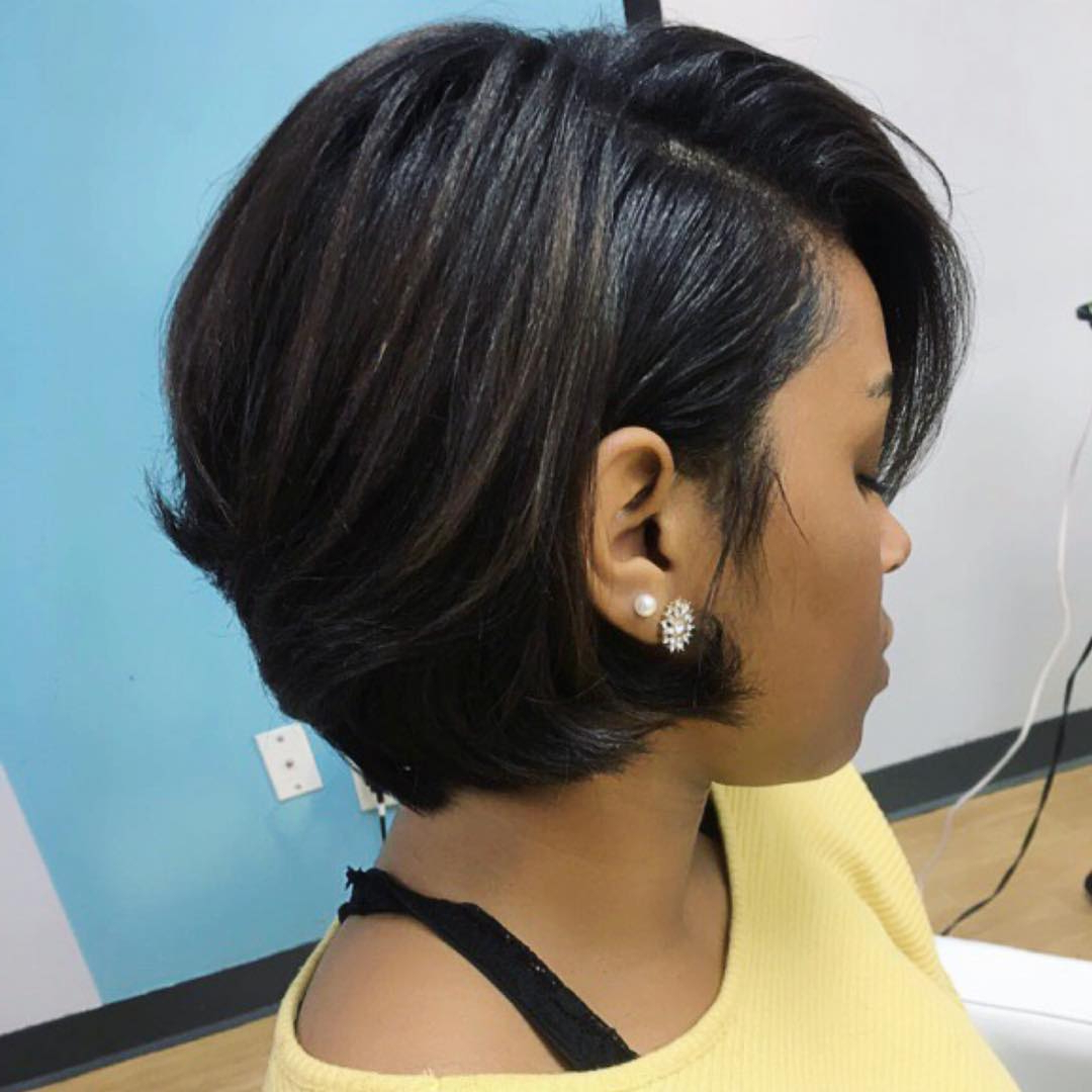 Favorite Medium Haircuts For Black Women With Round Faces Throughout 30 Best African American Hairstyles 2018 – Hottest Hair Ideas For (View 8 of 20)