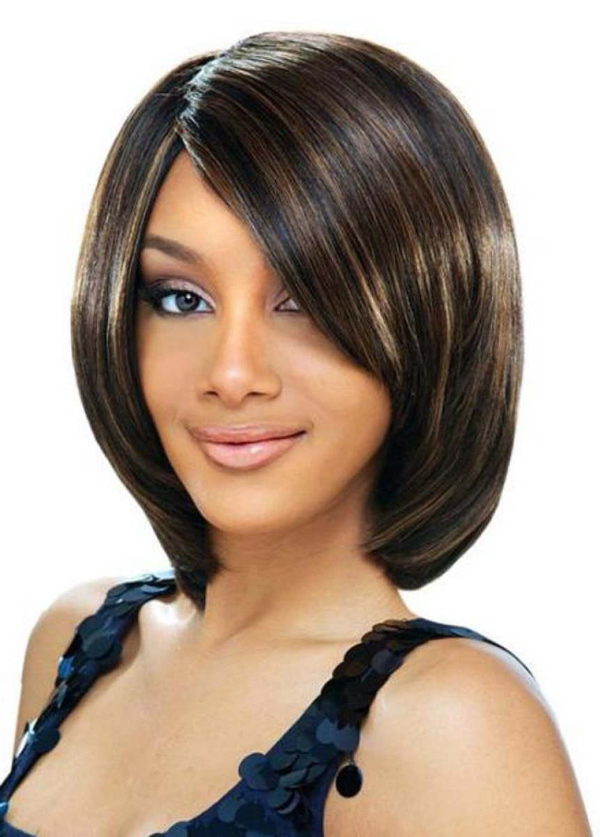 Favorite Medium Hairstyles For Black Women For Medium Hairstyles For Black Women To Elegant Hair Types – Barelypro (View 5 of 20)