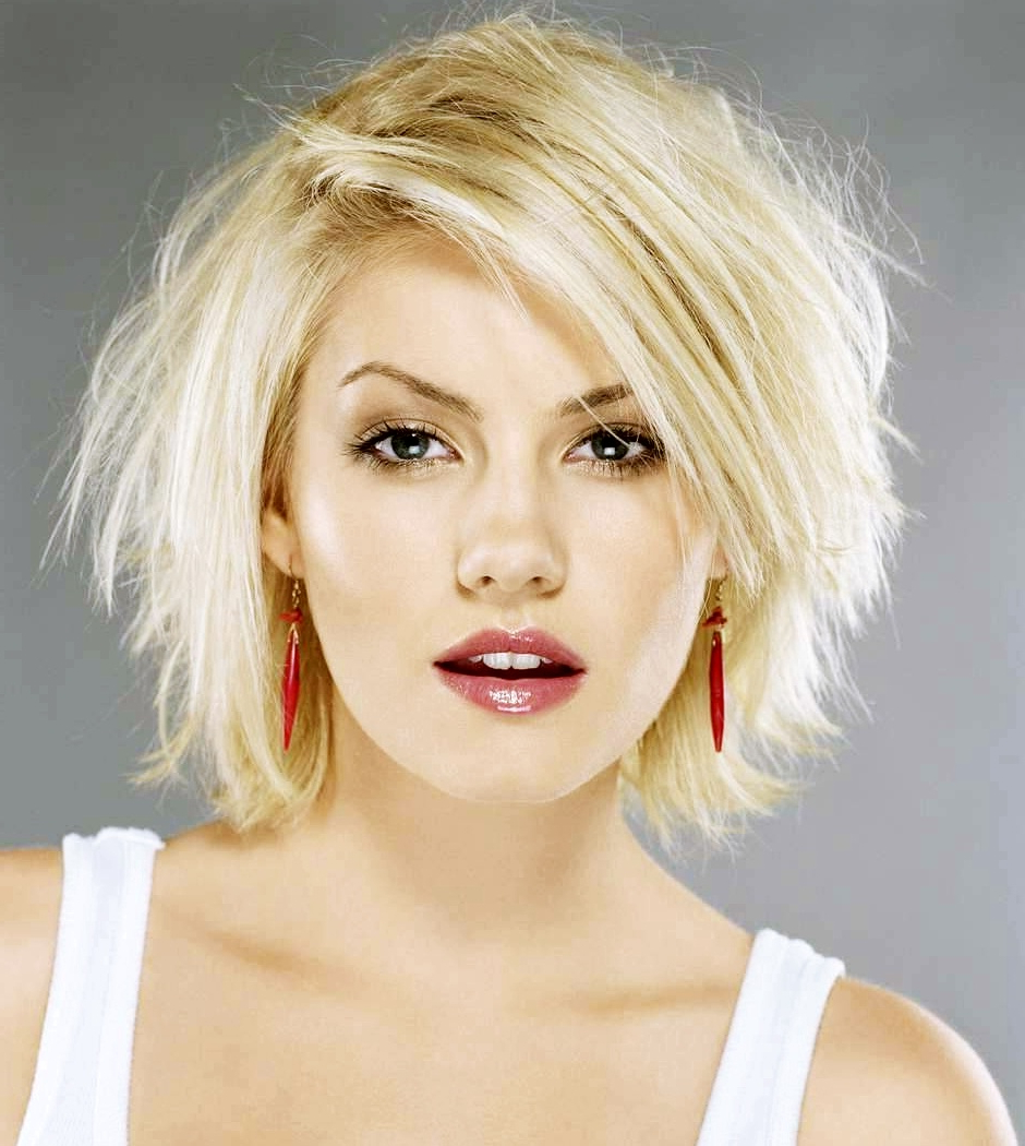 Favorite Medium Hairstyles For Small Faces In 50 Cute Short Haircuts For Women To Look Charming – Haircuts (View 16 of 20)